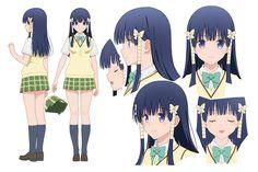 To love ru darkness Oshizu Murasame Anime To love ru darkness Character Model Sheet, Character Modeling, Character Concept, Character Art, Concept Art, Moe Manga, Manga Girl, Anime Manga, Female Characters