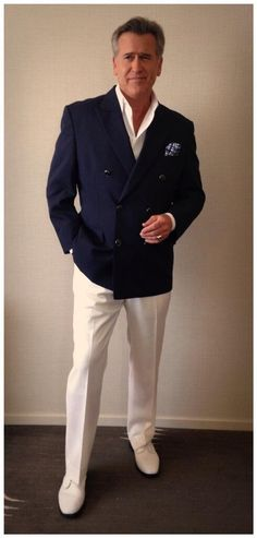 Dashingly handsome Bruce Campbell ready for Phoenix Comic Con 07.06.14