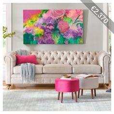Grandin Road Adelle Sofa - Velvet Jade