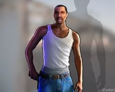 by Ezekiel-RN on DeviantArt Gta 5 Games, Bus Games, Cj Johnson, Gta Funny, Grand Theft Auto Games, Feeling Pictures, Gta San Andreas, Groves Street, Rockstar Games
