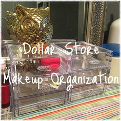 Dollar Tree Makeup Organization With Images Cheap Makeup