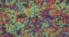 Crayon the Grids. Stephen Von Worley. Londres, Inglaterra. ?.