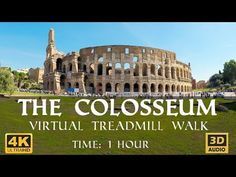 The Colosseum Virtual Walking Tour in Virtual Museum Tours, Virtual Tour, 6th Grade Social Studies, Virtual Travel, Virtual Field Trips, Home Learning, Stage, Walking Tour, Places To See