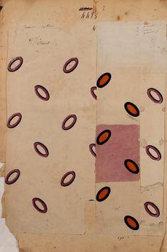 French textile design. Maison Robert 1863