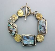 Three Opals and FlowersReserved for Sandra by Temi on Etsy, $270.00