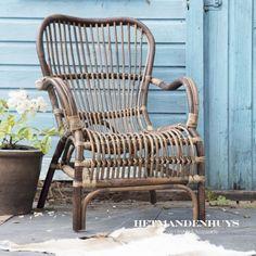 Rieten stoel Bari | HetMandenhuys.nl