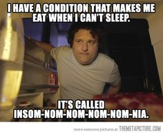 It usually happens every night…