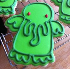 cthulu cookies (for @Leanne)