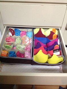 1000 images about organizador de ropa interior on - Organizadores de ropa ...