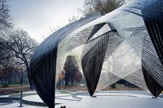 Web like pavilion