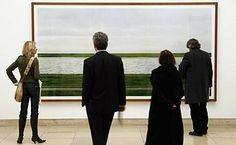 """Ausstellung """"Andreas Gursky"""" Large format presentation"""