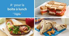 Brown-Bag Lunches: Recipes, ideas and inspiration for packed lunches they'll… Lunch Snacks, Bag Lunches, School Lunches, Lunch To Go, Lunch Box, Quick Recipes, Cooking Recipes, Boite A Lunch, Brown Bags