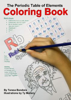 Periodic Table Coloring Book
