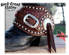 Items similar to Benson Spur Straps, SS Bright Concho, Old West, fully lined, handmade in Arizona on Etsy Spurs Western, Cowboy Spurs, Rodeo Cowgirl, Western Tack, Gypsy Cowgirl, Cowgirl Boots, Western Boots, Comanche Moon, Spur Straps
