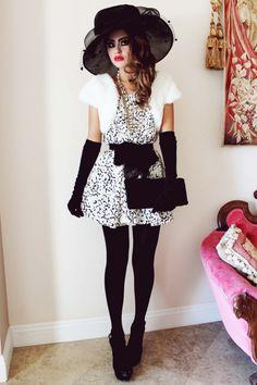 Bebe looks like a Parisian doll! #fashion