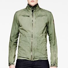 Raw correct brando twill jacket-Men-Jackets-G-Star