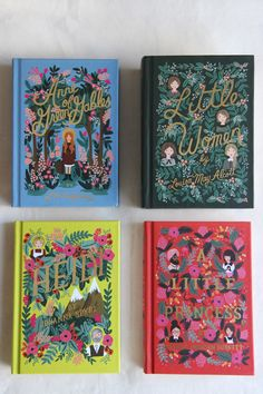 Cover designs by Anna Bond. Penguin Classics: The Puffin In Bloom Book Collection.