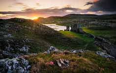 Dunlough Castle Photo by Rafal Rozalski — National Geographic Your Shot