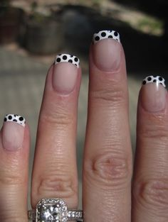 Polka Dot Tips! These are sooo cute.