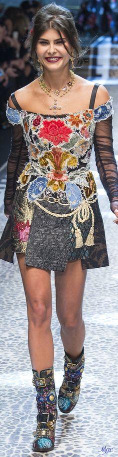 Fall 2017 RTW Dolce & Gabbana