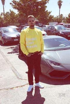 Look fresh like Chris Brown