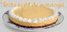 PANELATERAPIA - Blog de Culinária, Gastronomia e Receitas: Torta Levíssima de Maracujá