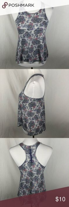 "American Eagle Outfitters Zipper tank small Pre-owned condition. Chest 14"" length: 22"" approximate measurements. Smoke free/pet friendly home. Make sure to check out my other listings, thanks for looking! American Eagle Outfitters Tops Tank Tops"