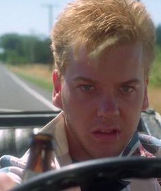 """I win."" Kiefer Sutherland as Ace Merrill in Stand By Me (1986)"