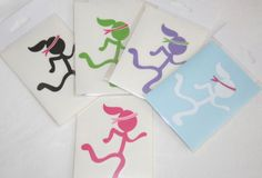 Runner Decals - Various styles available