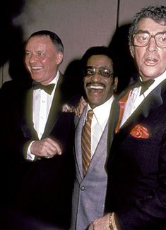 one day in heaven, i'm gonna party so hard with the rat pack.