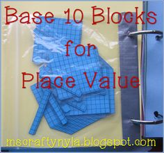 Base 10 Blocks can do so much! Read this post for lots of ways to use Base 10 Block printables in math.