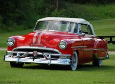1953 Pontiac Chieftain convertible...