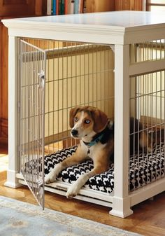 Our Luxury Pet Residence with FREE Crate Pad provides ultimate comfort for your pet and doubles as an attractive piece of furniture.