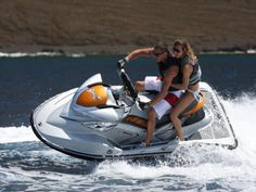 Meet Fifty Shades Continued - Christian takes Ana back to the yacht on the jet ski. Shades Of Grey Book, Fifty Shades Of Grey, 50 Shades, Summertime Girls, See Movie, Fifty Shades Trilogy, Yacht Boat, Jet Ski, Christian Grey