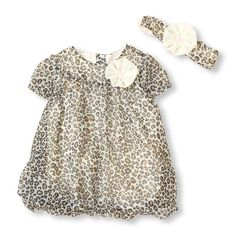 What's Not To Love About A Leopard Dress And Matching Headwrap! #bigbabybasketsweeps