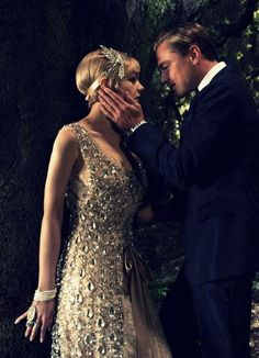 Gatsby Believed in the Green Light.The Great Gatsby - Leonardo Dicaprio and Carey Mulligan