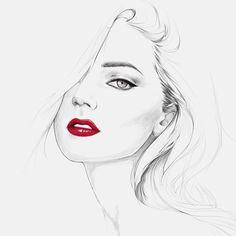 @angelcandices #redlips