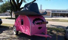 Cool caravan for a little boss