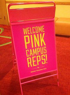 Welcoming in Ohio #victoriassecret #pink #pinkrep #sdsu #campusrep