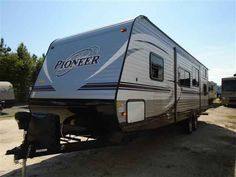 2016 New Heartland Pioneer BH270 Travel Trailer in North Carolina NC.Recreational Vehicle, rv, 2016 Heartland PioneerBH270, Bike Rack, Black tank flush, Enclosed Underbelly, Night shades, Pioneer Value Package, Power Awning w/ LED Light Strip, POWER STAB JACKS, Power Tongue Jack, RVIA Seal, Spare Tire and Carrier,