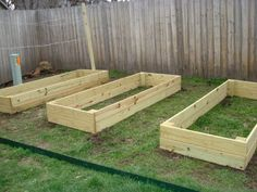 Easy instructions on constucting a raised bed garden. Also have read to use cardboard for killing off grass underneath and good compost for worms and to use chicken wire to keep moles and critters out!