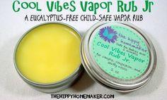 Cool vibes vapo rub jr - a eucalyptus-free child-safe vapor rub - thehippyhomemaker.com