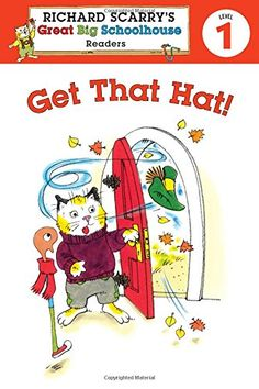 Richard Scarry's Readers (Level 1): Get That Hat! (Richard Scarry's Great Big Schoolhouse) by Erica Farber http://www.amazon.com/dp/1402799195/ref=cm_sw_r_pi_dp_lDBbwb1F1AWHT