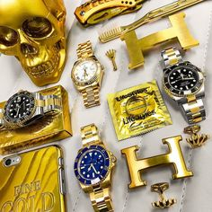 When a boss wakes up he uses all of these!  What's your pick?  Call Us for Pricing On these TT & YG pieces