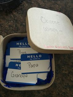 What a perfect baby announcement to a grandpa to be on father's day! #pregnancyannouncementtofamily, #pregnancyannouncementgifts,