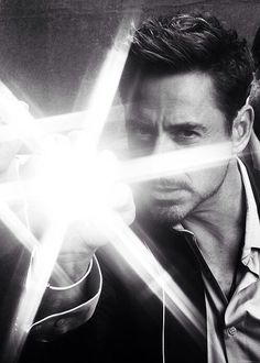 Robert Downey Jr./Tony Stark/Iron Man. All the same, really.