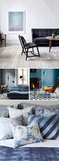 Blue interiors inspiration