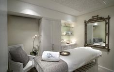 calm, relaxing treatment room #treatment #room #spa #relax