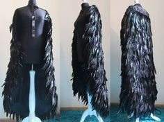 Etsy の Feather cloak by pinkabsinthe