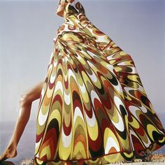 Emilio Pucci - Italian style meets 60s psychedelia: Like Wow! Tunic and leggings 1965